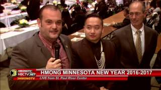 3HMONG NEWS: Chonburi Lee interview elected officials at Hmong MN New Year 2016-2017.