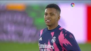 Calentamiento Real Madrid vs Real Betis