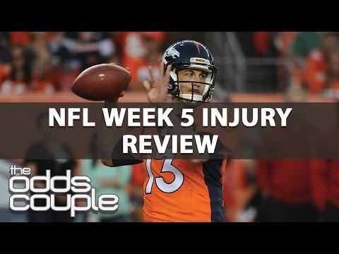 Key Injuries From NFL Week 5: Eddie Lacy, Nick Mangold Head The List