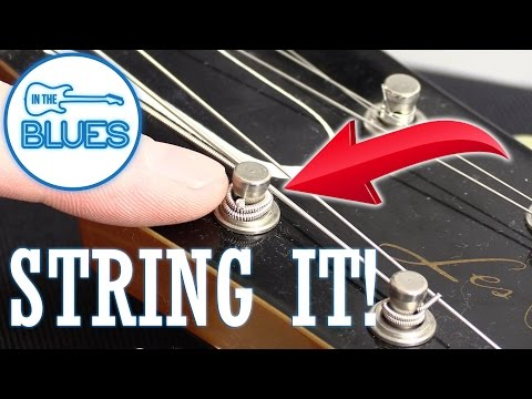 How the Professionals Wind Strings on a Gibson or Epiphone Style Guitar