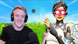 "TFUE PLAYS WITH ""ARCTIC ASSASSIN ""SKIN-FORTNITE GAMEPLAY HIGHLIGHTS"