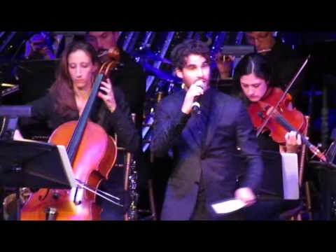 The River Lulla  All I Ever Wanted Prince of Egypt  Darren Criss @ The Lucky Stars Gala, NYC