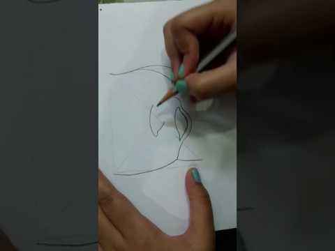 Drawing Female Reproductive System - Easy Way