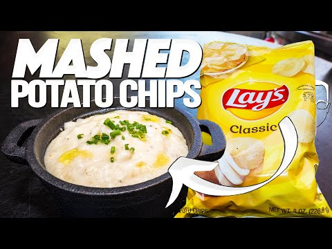 THE LATEST/GREATEST COOKING HACK ON THE INTERNET – MASHED POTATO CHIPS | SAM THE COOKING GUY