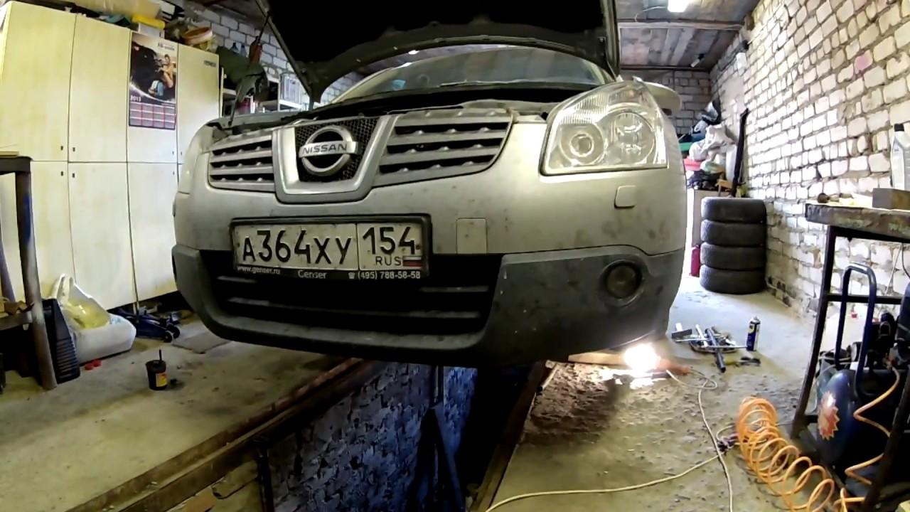 Замена жидкости в вариаторе Nissan Qashqai