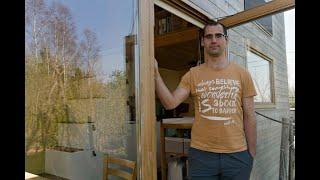 Tiny Houses: Op Bezoek Bij Thomas Van Riet