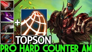 TOPSON [Troll Warlord] Epic Monster Mid Abyssal Blade Counter AM 7.24 Dota 2