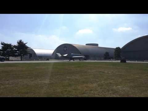 NMUSAF 4th Hangar Move - Tacit Blue Moving To 4th Hangar