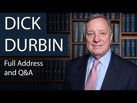 Senator Dick Durbin | Full Address and Q&A | Oxford Union