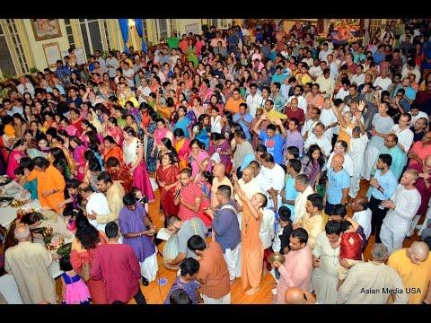 [Video] 08-25-2016 ISKCON celebrates Janmastami