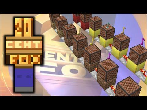 20th Century Fox Fanfare (Minecraft)
