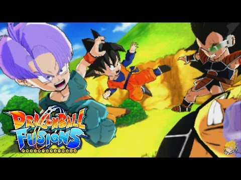Dragon Ball Fusions (3DS) -  Story Mode (Part 1) | Nappa & Raditz Fusion 【FULL HD】
