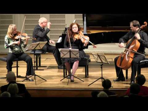 Pianoquartet d-major  Dvorak 2nd movement Jess-Trio-Wien Nora Romanoff-Schwarzberg