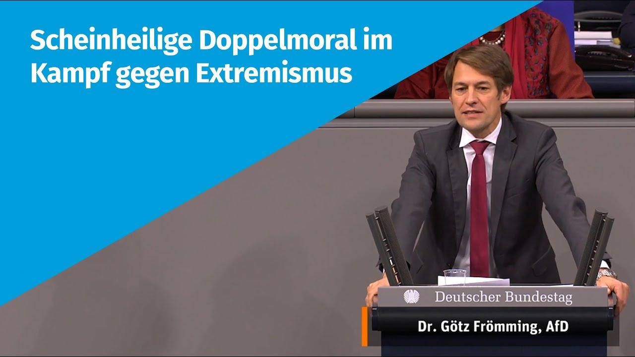 08.12.2020  Scheinheilige Doppelmoral im Kampf gegen Extremismus