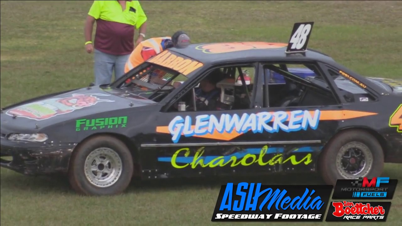 Modified Sedans Brett Barron And Jason Gray Battle Kingaroy
