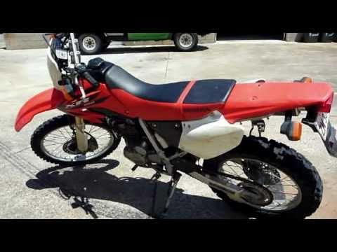 Honda XR250 motor bike for sale