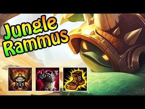JUNGLE RAMMUS Das Late Game Monster (Ranked Gameplay)