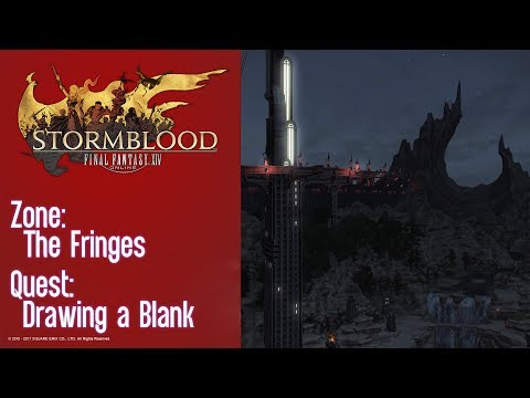 FFXIV Stormblood Quest: The Fringes - Drawing a Blank
