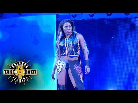 Ember Moon's entrance: NXT TakeOver: Orlando (WWE Network Exclusive)