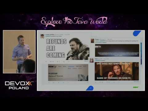 Devoxx Poland 2016 - Tom Maule - NOW TV and Linear Streaming: The unpredictable scalability...