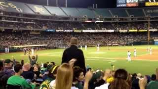 Josh Reddick comes up to bat, Careless Whisper plays