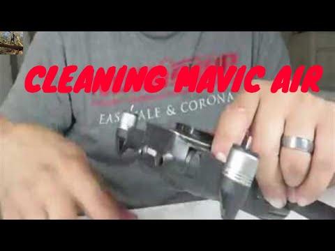 How To Clean DJI Mavic Air Drone