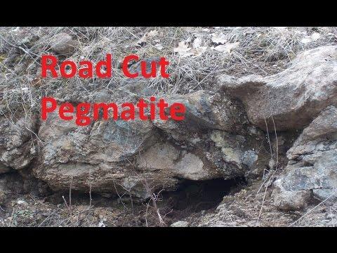 Harcourt (Ontario) Road Cut Pegmatite