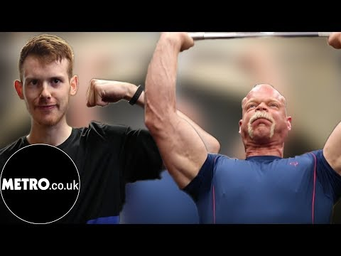 We challenged the former World's Strongest Man to strength challenges