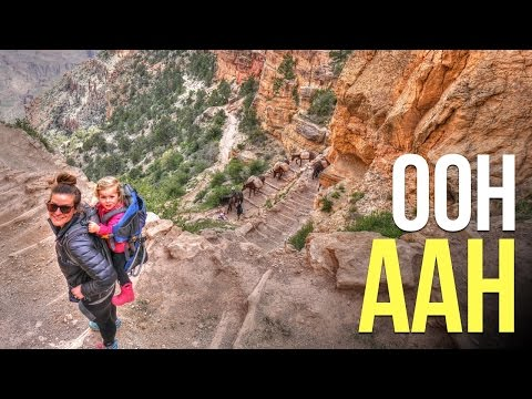 Hiking One of the Most Popular Hikes in the Grand Canyon - RV Living Full Time