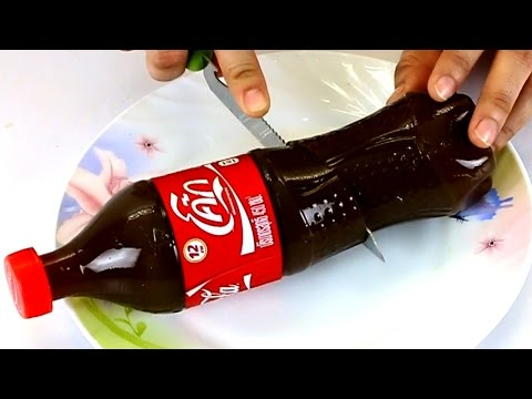 วิธีทำ วุ้นโค้ก Coca Cola Pudding Jelly