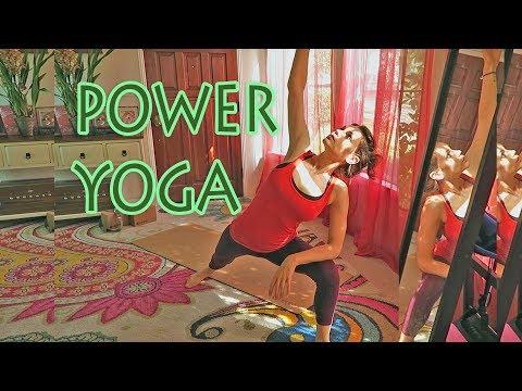 Beginner Power Yoga Class Core Weight Loss