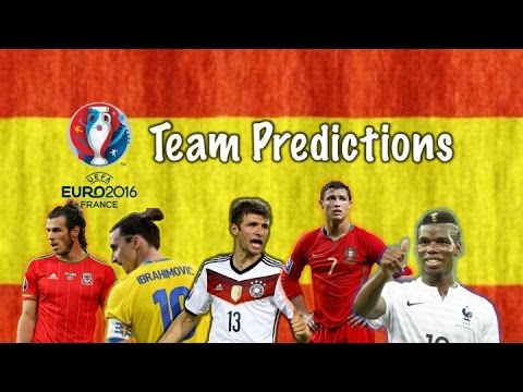Euro 2016 Spain Squad Predictions