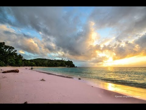 Pink beach Philippines