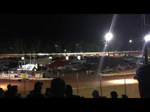 Lucas Oil Dirt Late Models at Cherokee Speedway July 8 2016