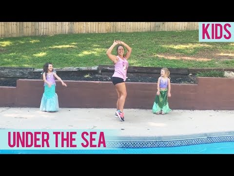 The Little Mermaid - Under the Sea (Kids Dance Fitness with Jessica)