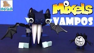 Лего Миксели Lego Mixels Series 4 Glowkies Vampos Миксель ВАМПОС! Лего Мультики. Видео для Детей