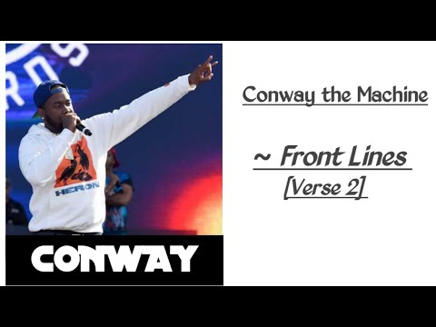 Download Conway the Machine - Front Lines - Conway [Verse 2]