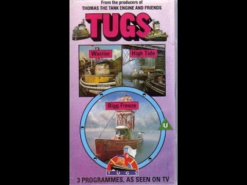 Original VHS Opening: Tugs - Warrior, High Tide And Bigg Freeze (UK Retail Tape)