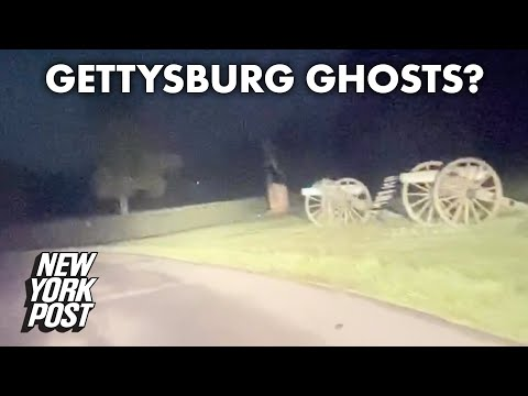 Gettysburg 'ghosts' run across road in this bone-chilling video | New York Post