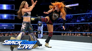 Becky Lynch vs. Mickie James: SmackDown LIVE,...
