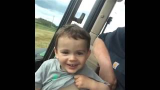 PITS COVERED,FACE REVEAL?/ FUNNY NEPHEW TRACTOR CLIP
