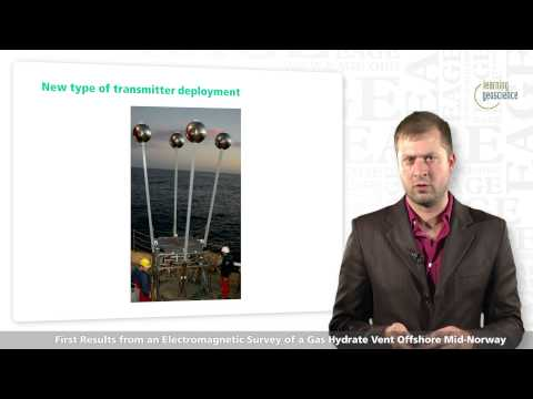 EAGE E-Lecture: An Electromagnetic Survey of a Gas Hydrate Vent Offshore by Andrei Swidinsky