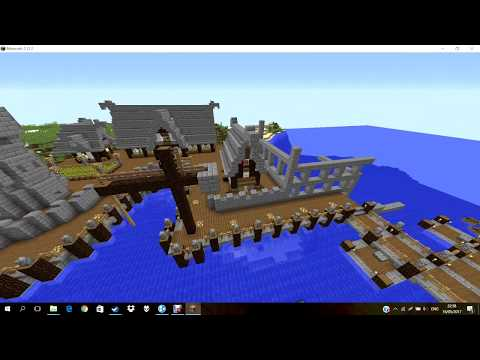 Small medieval harbor (overview)
