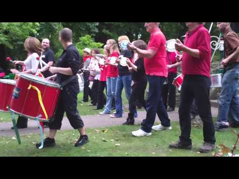 Swindon Samba: Bandstand 21st September 2013