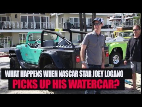 NASCAR superstar Joey Logano picks up WaterCar!