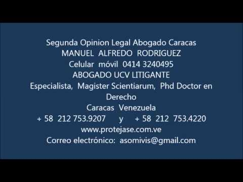Segunda Opinion Legal Abogado Caracas