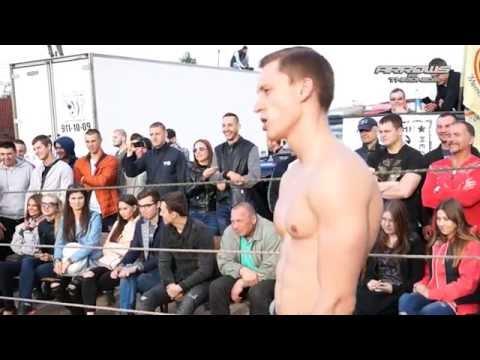 Navy vs Boxing fighter in Street Fight