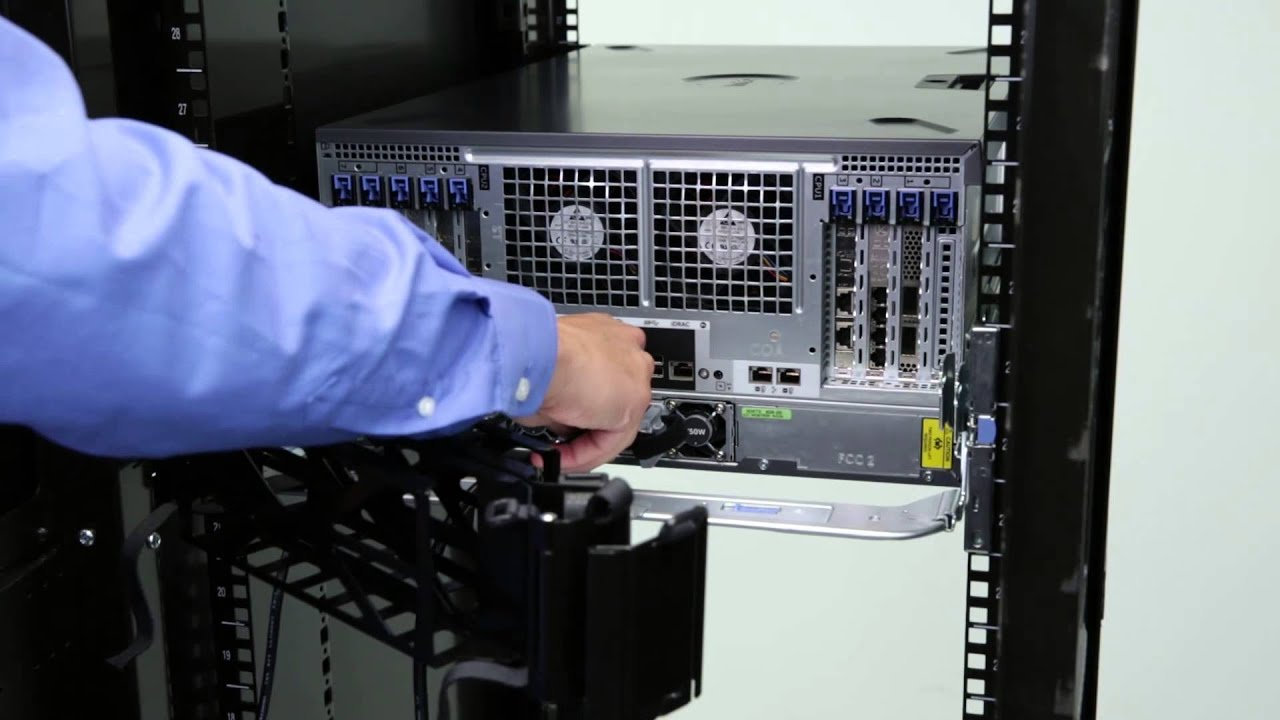 Dell Poweredge 13g Tower Servers Install Cable Management