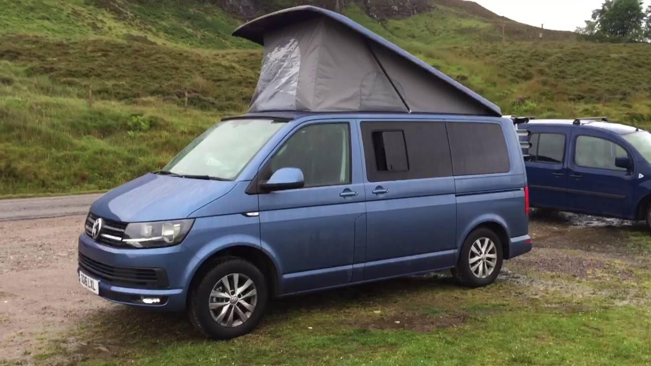 2016 Camper Van >> 2016 Vw Transporter Camper Van Walkaround Youtube