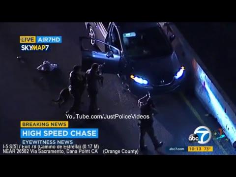 Orange County CA Police Chase, April 28 2017